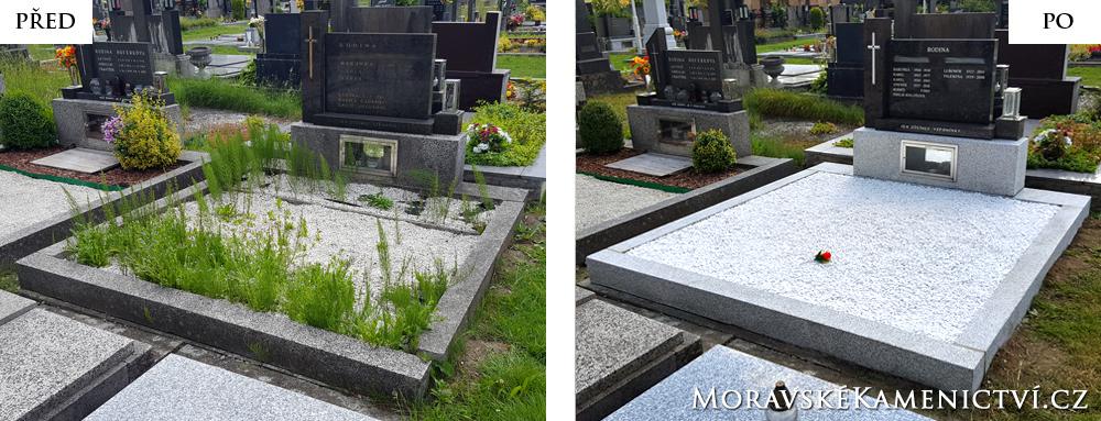 Renovace hrobu
